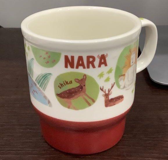 スターバックスのご当地コーヒーカップ(奈良)