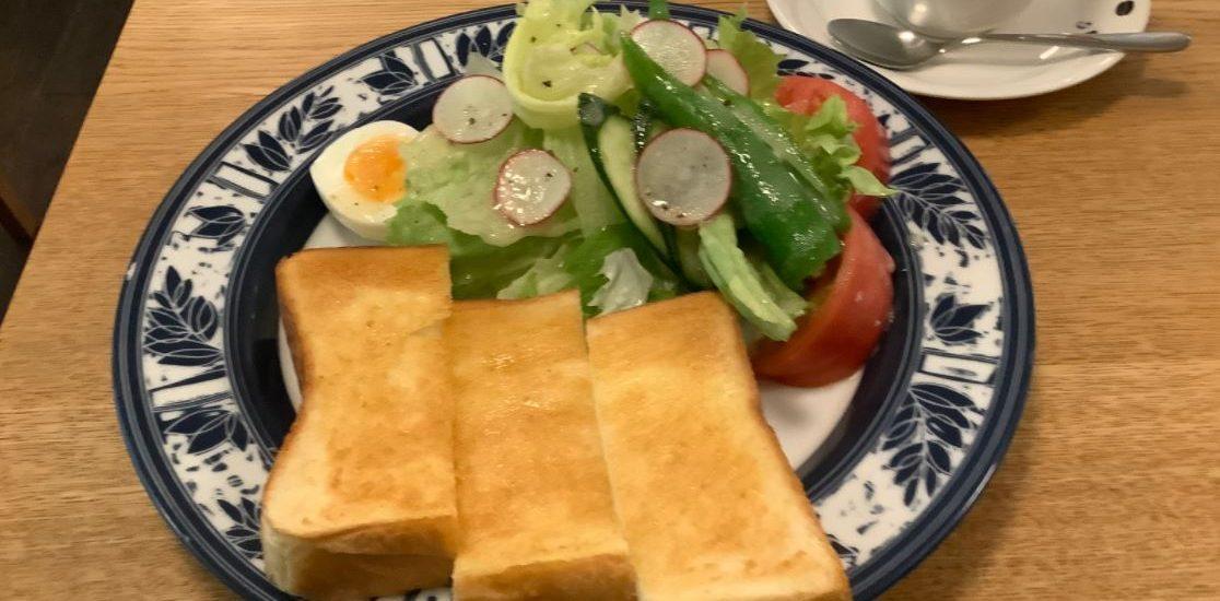 新鮮な京野菜のモーニング