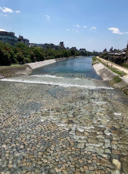 夏色の鴨川